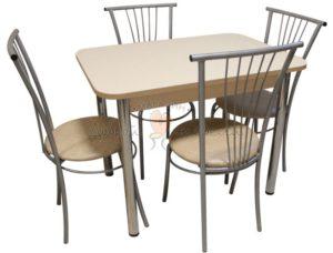 Комплект стол и стулья Былина Радригес
