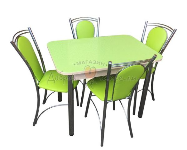 Комплект стол и стулья Былина Ромашка