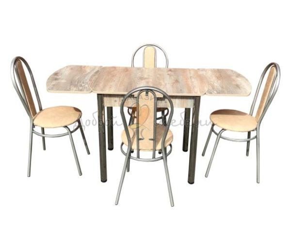 Комплект стол и стулья Дасти Магнолия