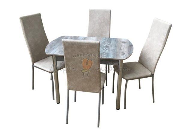 Комплект стол и стулья Лофт Пекин