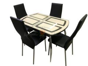 Комплект стол и стулья Вегас Волна