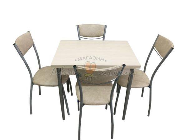 Комплект стол и стулья Веста Пируэт