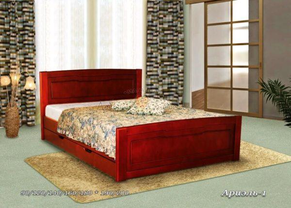 Деревянная кровать Ариэль 1
