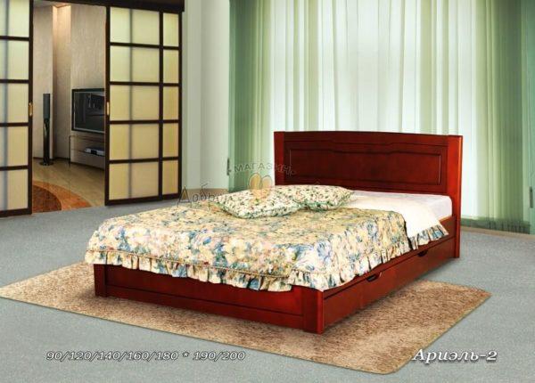Деревянная кровать Ариэль 2