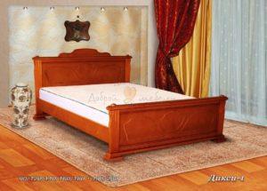 Деревянная кровать Дикси 1