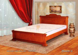 Деревянная кровать Дикси 2
