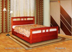 Кровать из массива Флирт 1