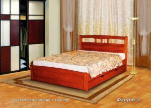 Кровать из массива Флирт 2