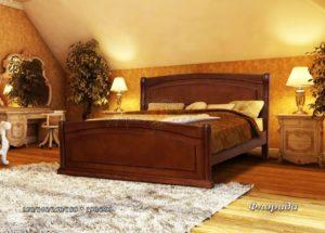 Кровать из массива Флорида