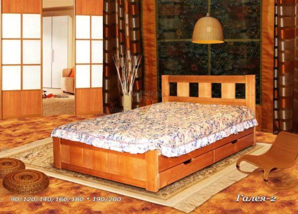 Деревянная кровать Галея 2