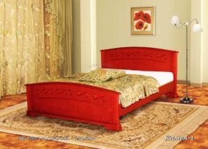 Деревянная кровать Камея 1