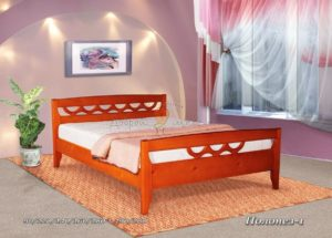 Деревянная кровать Полонез 1