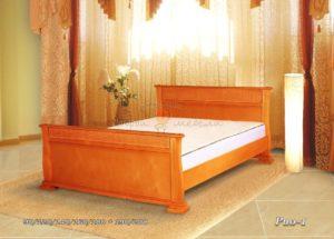 Кровать из массива Рио 1