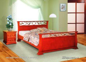 Кровать из массива Шармель 1