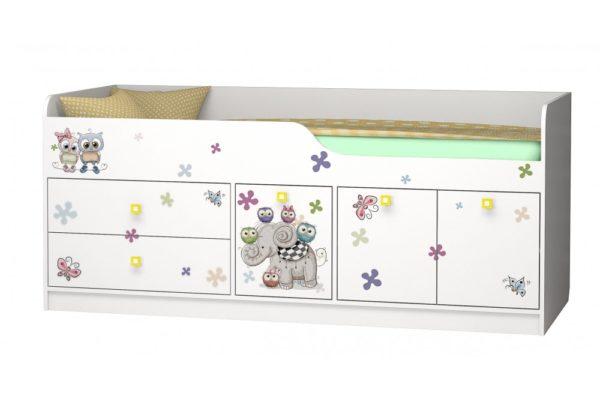 Кровать Смарти 3 с ящиками