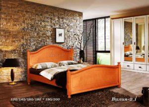Деревянная кровать Вилия 2 1