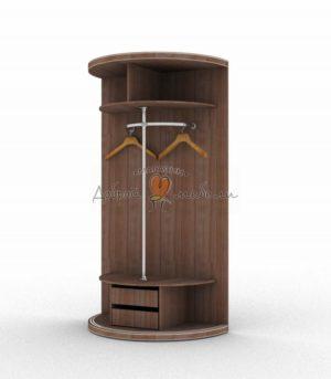 Радиусный шкаф Меридиан стандарт комплектация 1