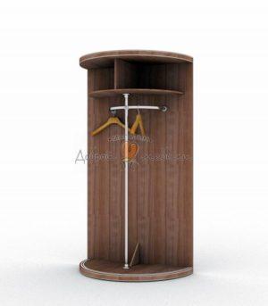 Радиусный шкаф Меридиан стандарт комплектация 2