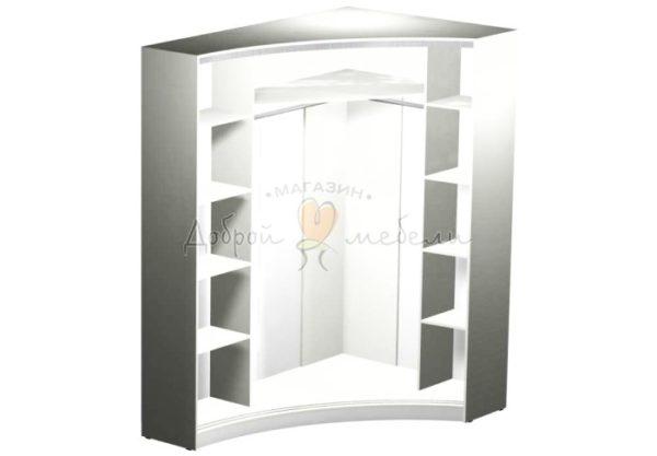 Радиусный шкаф купе Рада 10 наполнение