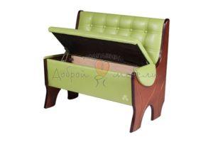 диван для кухни с ящиком Серж