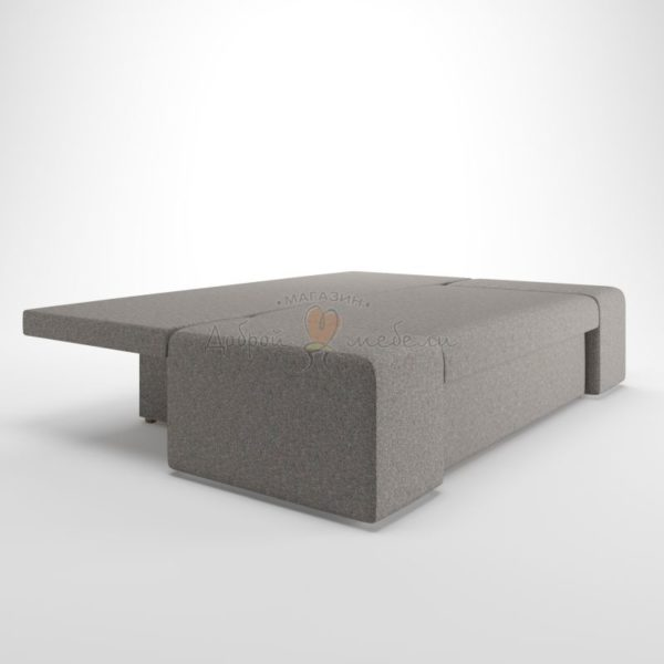 диван еврокнижка Lega Grey bed