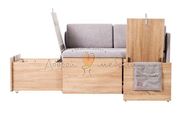 диван на кухню с ящиками