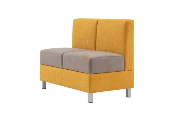 двухместный диван для кухни Лион 2