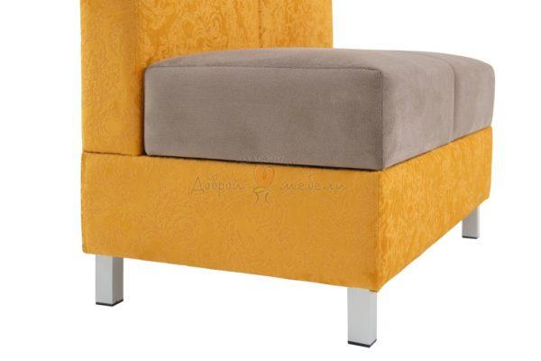 двухместный диван для кухни Лион 5