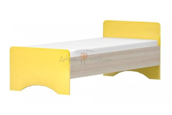 кровать Алешка мозаика желтый