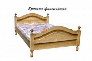 кровать Филенчатая