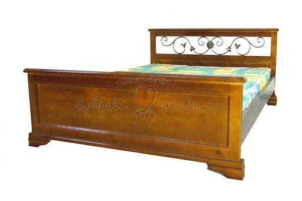 кровать Варвара с ковкой