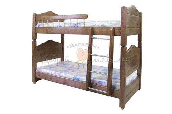 кровать двухъярусная Филенка