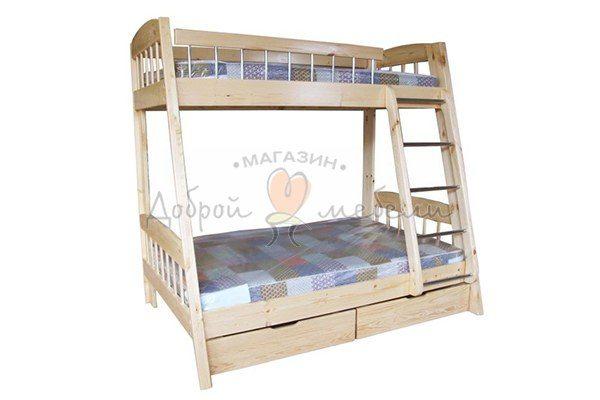 кровать двухъярусная Трапеция