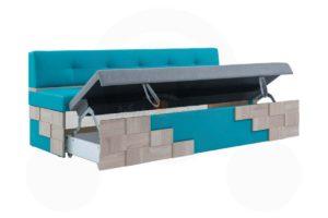 прямой кухонный диван Редвиг 2