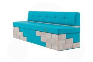 прямой кухонный диван Редвиг 6