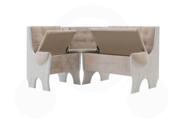 кухонный диван угловой Серж 3