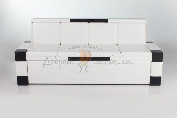 кухонный прямой диван Квадро