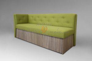 кухонный прямой диван Верона