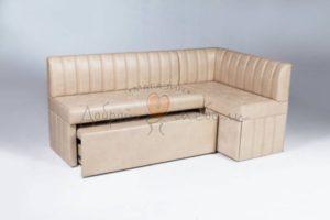 кухонный угловой диван со спальным местом Мале