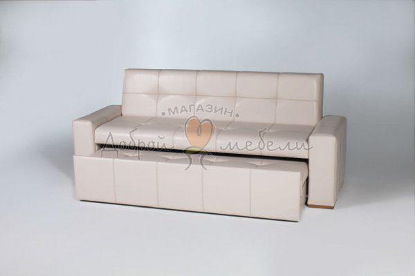 прямой диван для кухни со спальным местом