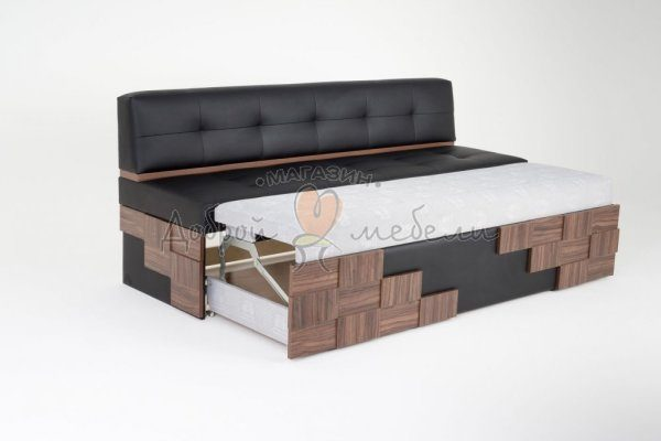 прямой диван для кухни со спальным местом Редвиг