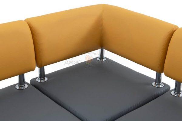 прямой кухонный диван Берген 4