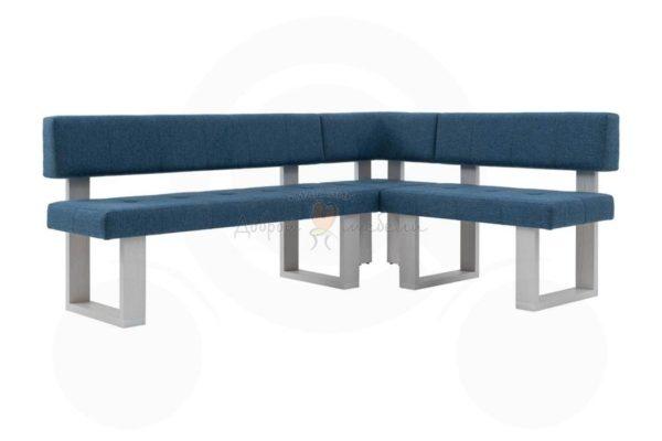 прямой кухонный диван Борнео 3