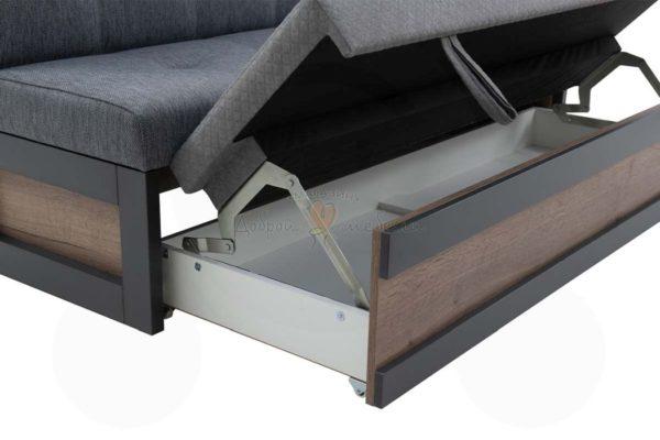 прямой кухонный диван Нойс 2