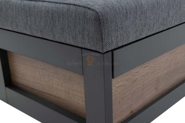 прямой кухонный диван Нойс 3