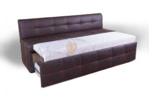 прямой кухонный диван со спальным местом Дублин
