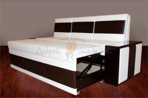 прямой кухонный диван со спальным местом Остин