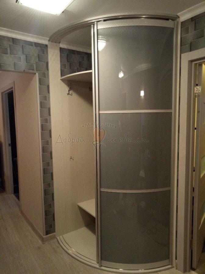 радиусный шкаф по индивидуальным размерам