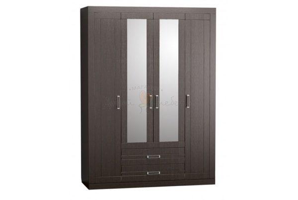 шкаф четырехстворчатый марокко венге