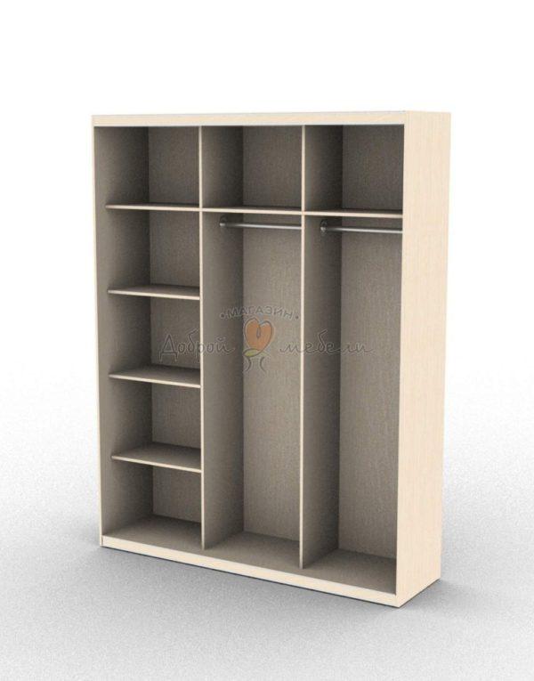 шкаф купе 3 внутри вариант 1